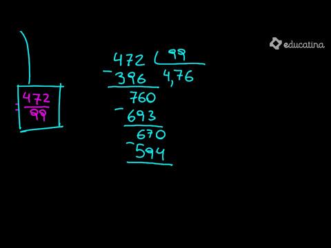 Suma y resta de decimales periódicos. - Aritmética - Educatina