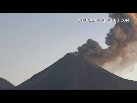 Mexico's Fire volcano erupts five times