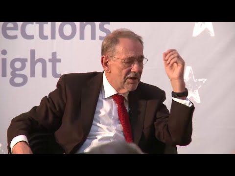Discussion with Javier Solana - European Elections Night