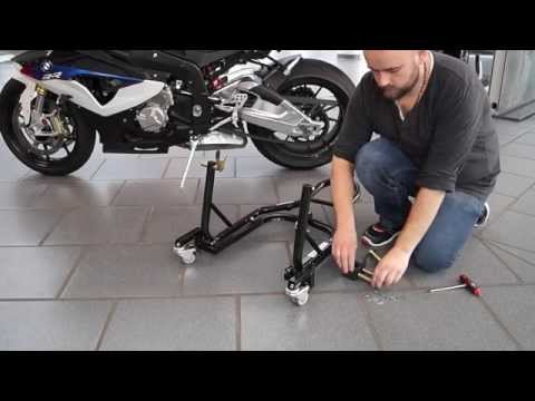 Motorcycle Rear Paddock Stand Dolly Mover II ConStands