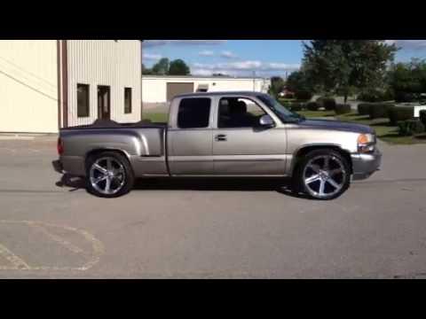 GMC 24 inch Iroc Wheels Chevy - YouTube
