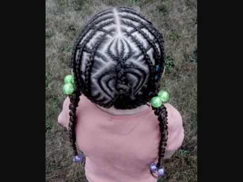 Cornrowed SpiderWed Design YouTube