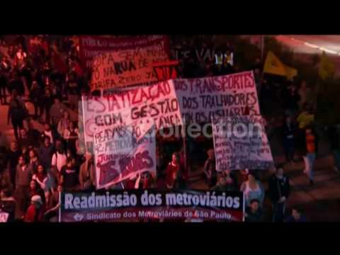 WORLD CUP:PROTESTS IN BRAZIL