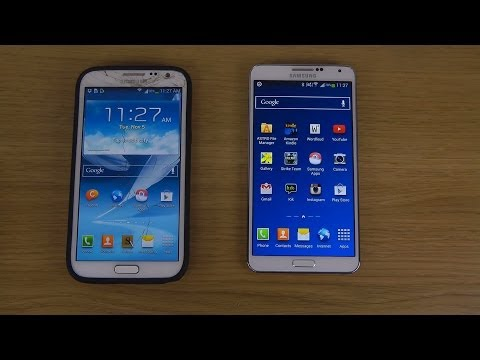 Official Android 4.3 Jelly Bean Samsung Galaxy Note 2 vs. Samsung Galaxy Note 3 - Browser Review