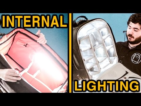 Petrol Bag review + Lowepro backpack with DIY lighting