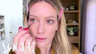 Hilary Duff's Busy Mom Makeup Routine | Beauty Secrets | Vogue