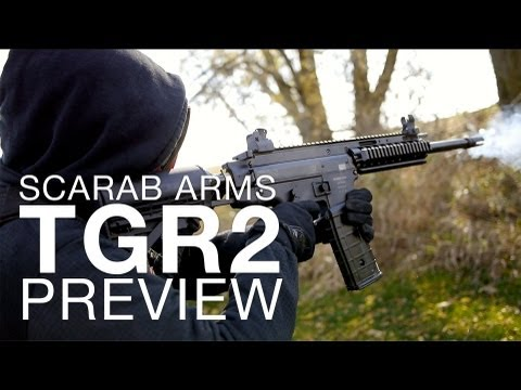 A NEW MAG-FED PAINTBALL MARKER PLATFORM? - Scarab Arms TGR2 Preview