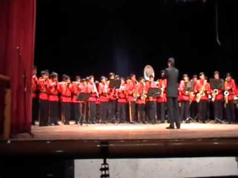 Presentación de la Banda Sinfónica Colegio San Jeronimo Sep-2014