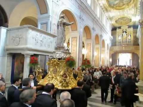 14 Febbraio 2013 - Santo Patrono di Sorrento Sant'Antonino Abate. (L. Garbo)