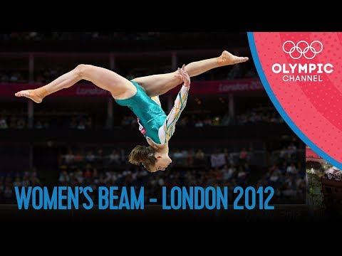 Women's Beam Final   London 2012 Olympics