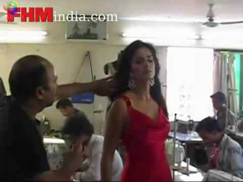 Making Of Katrina's Sexy Photoshoot video