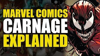 Marvel Comics: Carnage Explained | Comics Explained