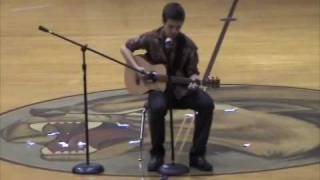 Neil Young - Old Man (talent show)