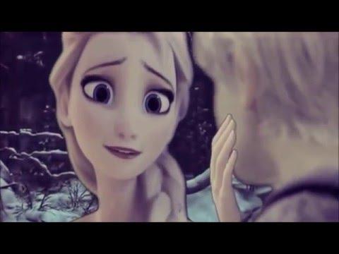Frozen  No Sales De Mi Mente Elsa y Jack Frost Oficial