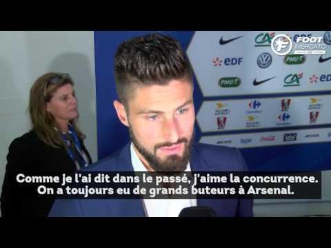 Olivier Giroud ouvre la porte pour Jamie Vardy à Arsenal