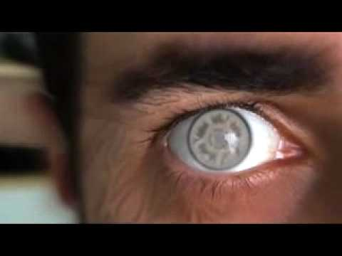 Man With Byakugan Colour Contact Lenses - YouTube