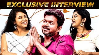 """Enaku VIJAY SIR Mela Inspiration Agiduchu"" – Nethraa Movie Actress Subiksha & Riythvika Opens Up !!"