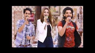 Ultimate Jugalbandi between Aima Baig,Safeer Jafri,Zeeshan & Wajhi Farooki