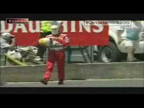 The best crash compilation of Michael Schumacher