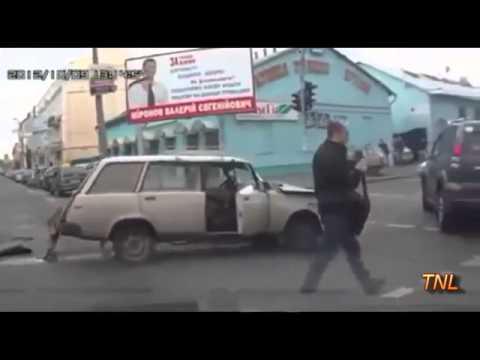 Подборка записей с автомобильных видеорегистраторов
