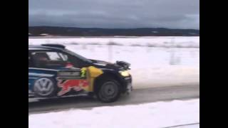 WRC Rally Sweden 2015 - JariMatti Latvala off SS9 Torsby 2