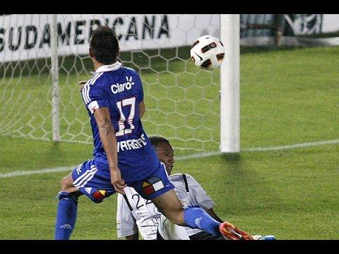 Eduardo Vargas Goles Copa Sudamericana 2011 U. de Chile Campeón