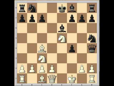 Briliant King's Gambit Game: Efimov - Bronstein