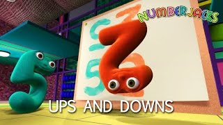 NUMBERJACKS | Ups And Downs | S2E1