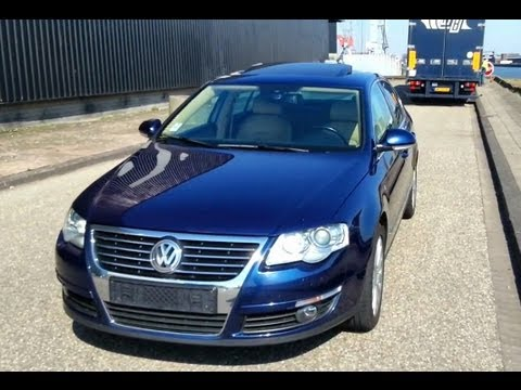 Volkswagen Passat 2.0TDI Start Up In Depth Review Interior Engine Reving
