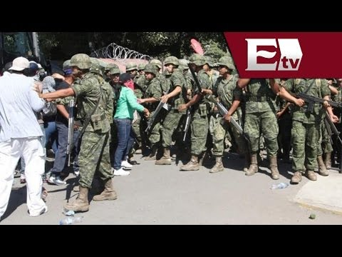 Policía Federal y Ejército asumen responsabilidad de seguridad de Michoacán Titulares