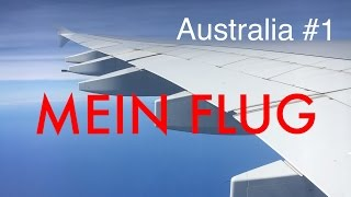 Mein FLUG nach Sydney #1 | Work & Travel