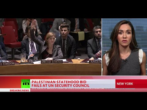 Palestinian statehood bid fails at UN Security Council as US, Australia vote against