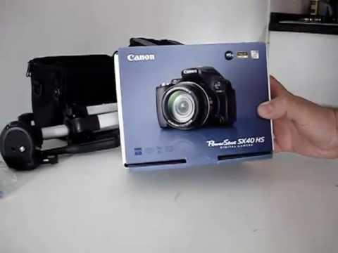 Canon SX40 HS Português - Canon Powershot SX40 HS