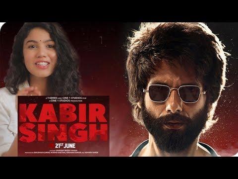 Kabir Singh – Official Trailer | Shahid Kapoor, Kiara Advani | Reaction | Pooja Rathi | CuteBox