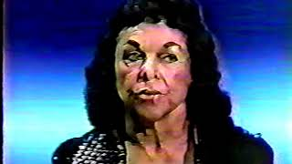 The Fabulous Moolah pre-match interview, ~1983