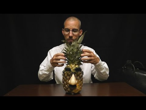 Binaural ASMR Pineapple Relaxation