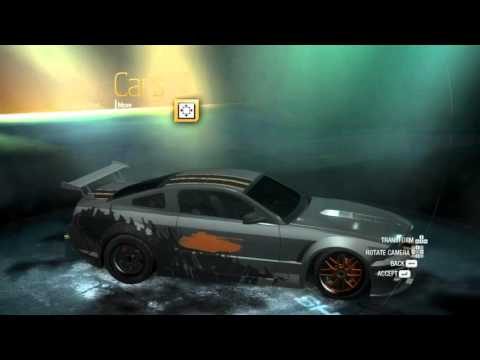 NFS Undercover: Mustang speedtune.