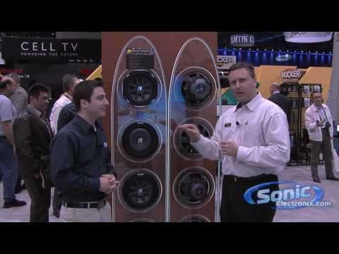 New Kicker CVT and Kicker CVR at CES 2010