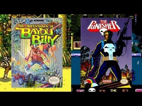 AVGN (И Pat NES Punk) — Bayou Billy / The Punisher — Rus-Reploid