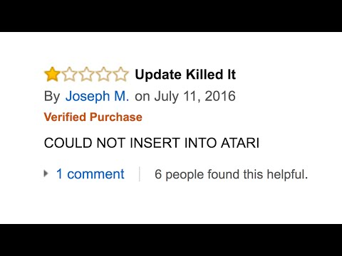 Worst Reviews On Amazon #1 (Minecraft Xbox 360)