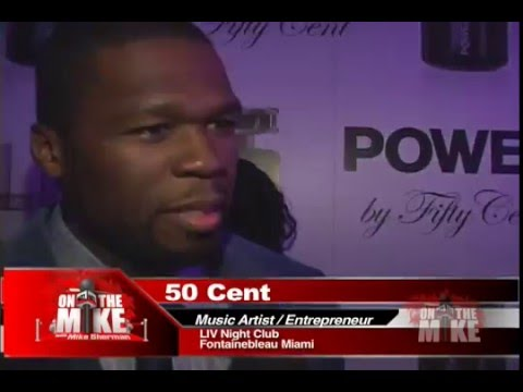 Pamela Anderson and 50 Cent - On the Mike