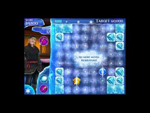 Disney Frozen Free Fall - Level 90 [Gameplay Walkthrough]