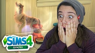 O MEU CACHORRO VOLTOU FANTASMA! - The Sims 4 Estações