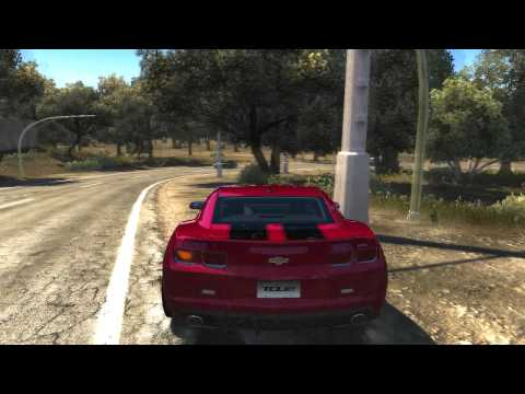 TDU 2 - CHEVROLET camaro 2010 - gameplay (HD) - beta
