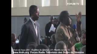 Procès du 4 mars 2012 Audition de Jean Dominique Okemba  (partie 2)