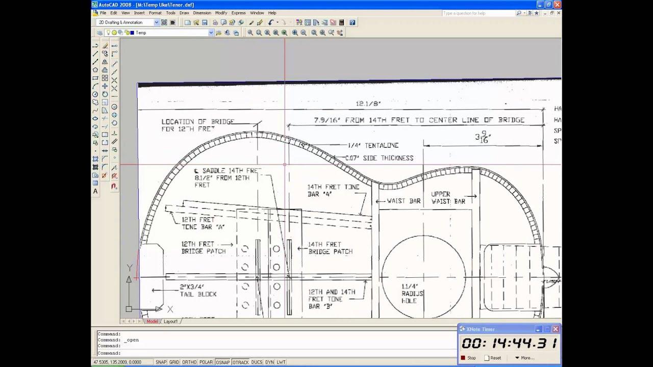 Дизайн проект в autocad
