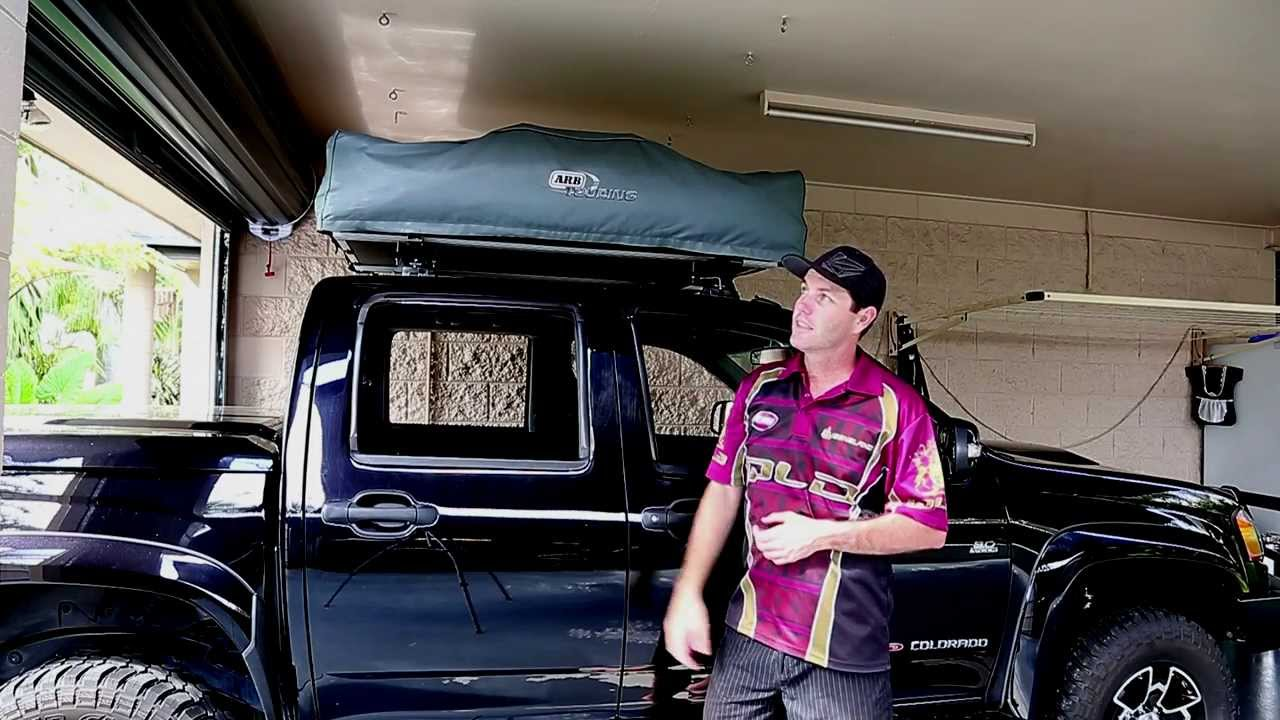 Arb Roof Top Tent Storage Idea Tent Top Youtube
