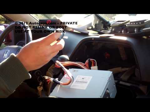 HONDA ODYSSEY PXAMG UNCUT VERSION 2  IPOD BLUETOOTH ISIMPLE INSTALLATION (USE AT YOUR OWN RISK)