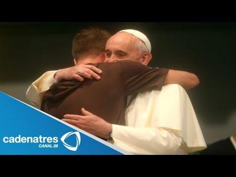 Papa Francisco visita el hospital San Francisco de Asis/ Pope visits hospital San Francisco de Asis