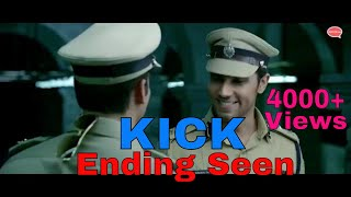 Kick Movie Ending Scene | Devil Comeback With Police Role | ABCDLive